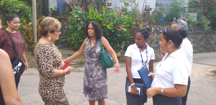 Joint visit was undertaken at Belvedere